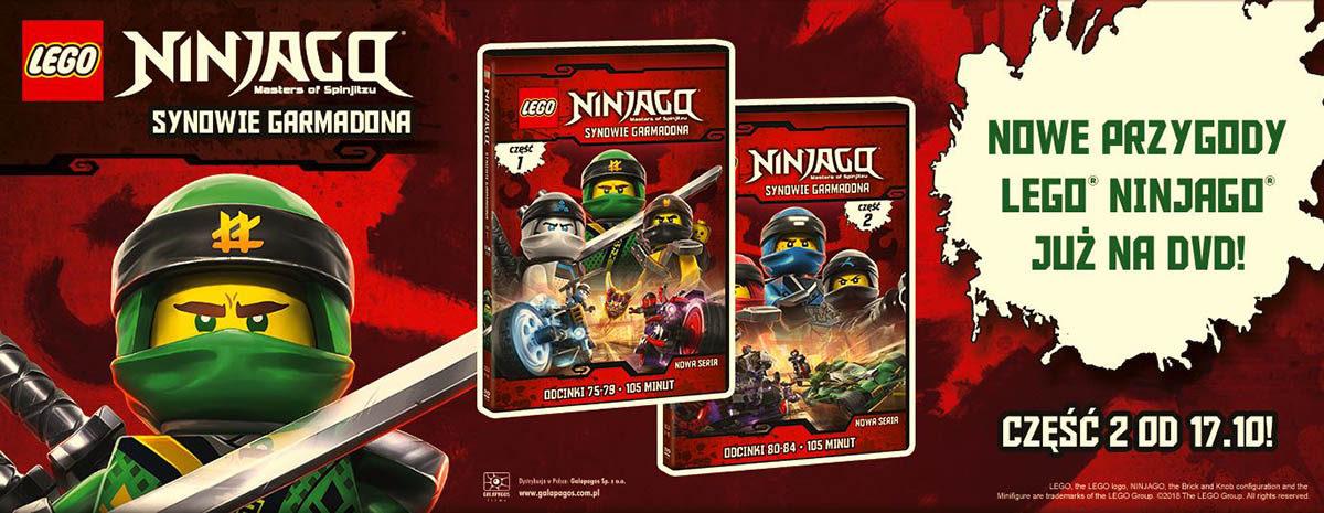 Nowe Przygody Lego Ninjago Na Dvd Egagapl Portal Dla